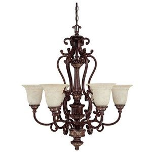 CanadaLightingExperts | Chesterfield - Six Light Chandelier