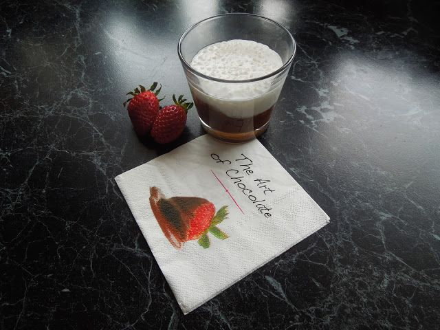 Divá   Divizna: Tapiokový puding s čokoládovou ganache