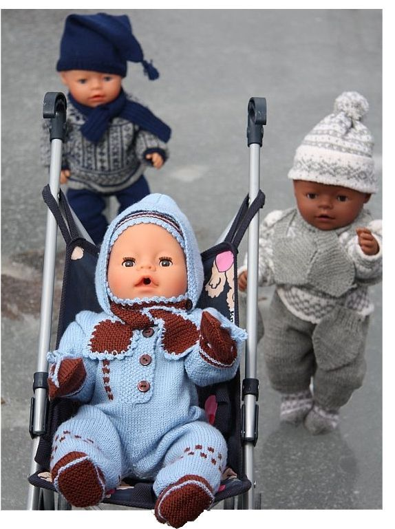 Doll knitting patterns | knitting doll patterns...I want to knit!! These would be adorable on a real baby!!!