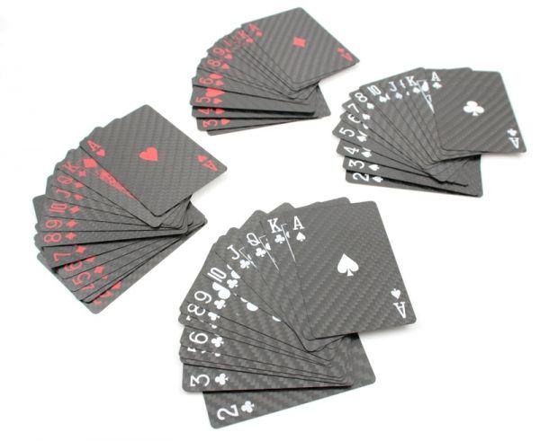 Carbon Pokerkarten