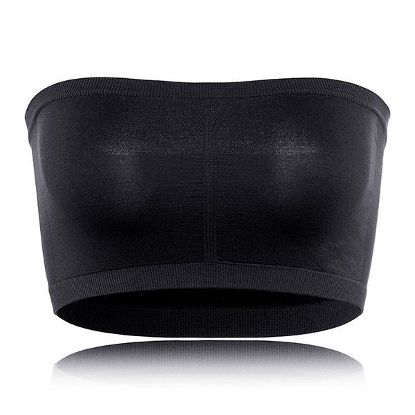 Seamfree Raw Cut Wireless Strapless Bando Bras