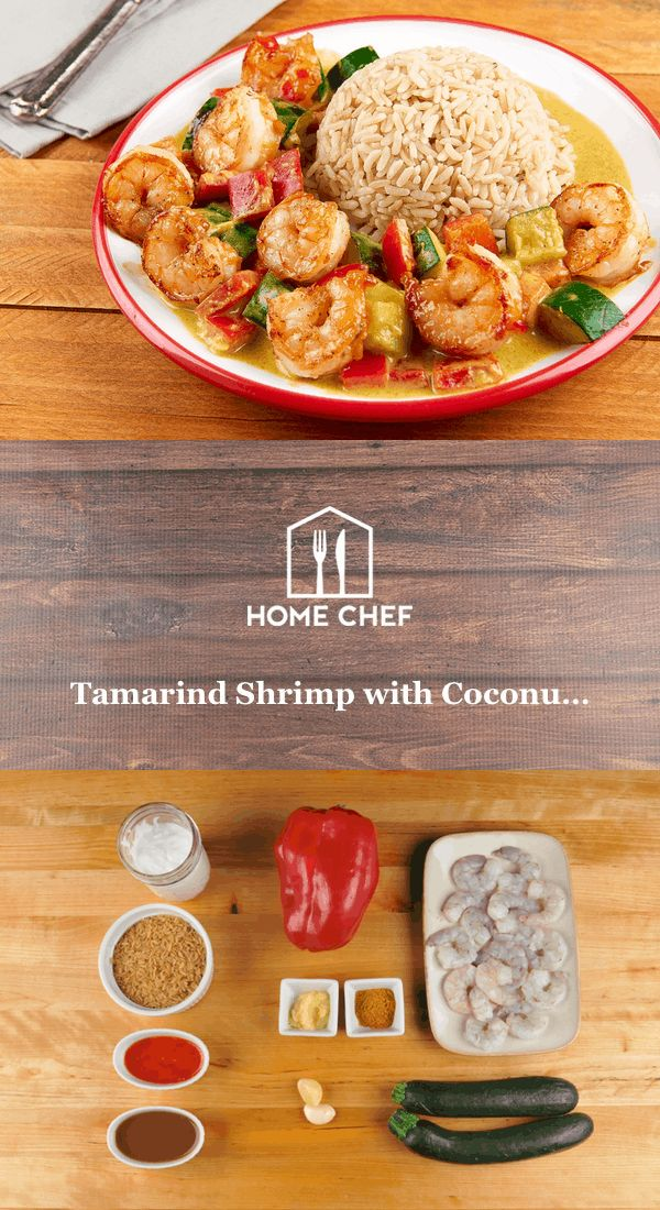 If this is your first time cooking with tamarind, it almost certainly won't be your last. Try a small taste of it. It's like putting a ripe strawberry and 9V battery on your tongue at the same time--sweet, sour, and something you can't resist wanting more of. We mix it with sweet chili sauce to glaze succulent pan-seared shrimp. Served with brown rice and coconut-curried zucchini and bell pepper, this is a quick, healthy dinner with unforgettable flavors.