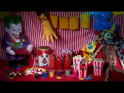 Décoration Halloween Cirque Effrayant - YouTube