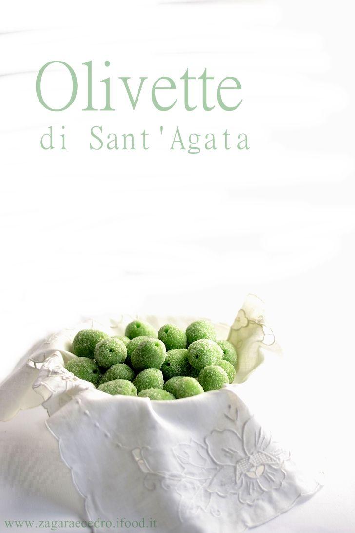 Olivette di Sant'Agata dolci piccole delizie ricetta passo passo sul blog http://www.zagaraecedro.ifood.it/2016/01/olivette-di-santagata.html