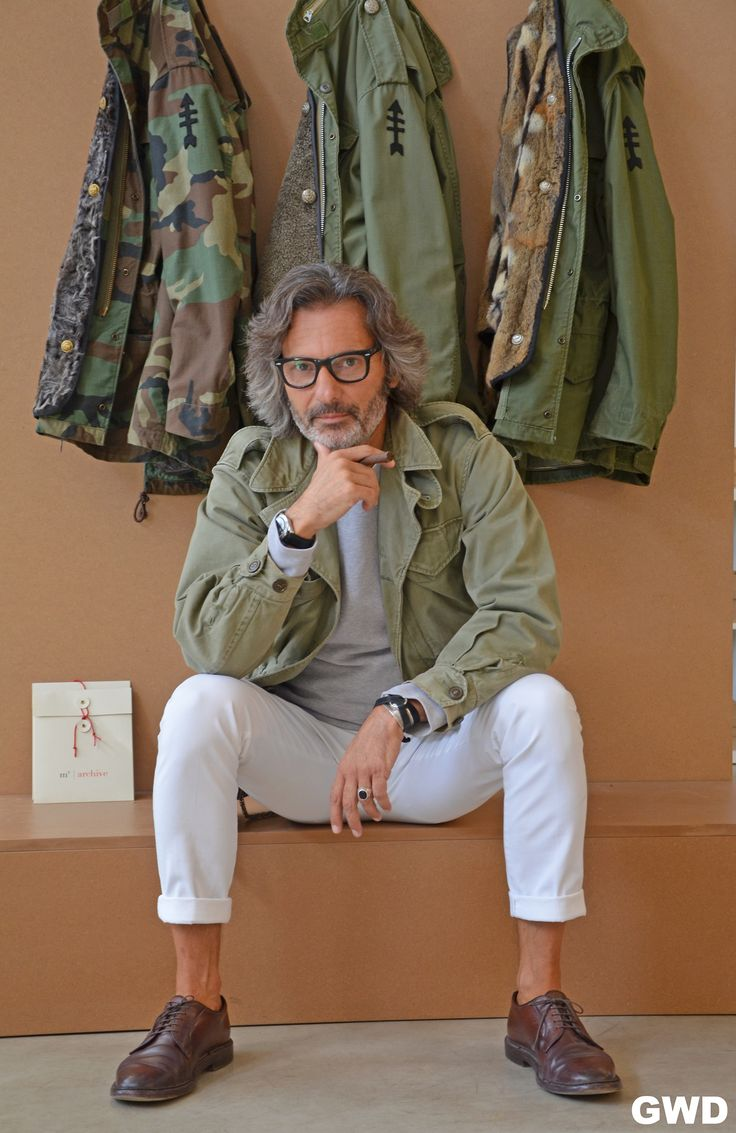 Marco Zambaldo and his field jackets!