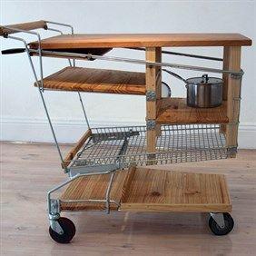 Mobile Kitchen Bench by Vaidas Zvirblis #workshopped #supacentamoorepark