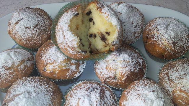 Betta Scrap: Muffin al mascarpone e gocce di cioccolato