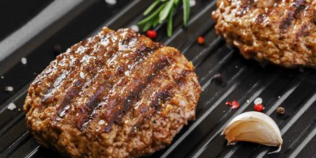 The Best Beef Burger Recipes.  Substituted milk for water, included soy sauce and added a tiny bit of pork. YUM!