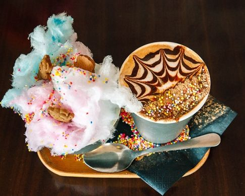 Perth's Best Cafes For Non-Coffee Drinkers, Hot Chocolate, Chai Latte, Matcha Latte, Taro Latte, Perth Cafe
