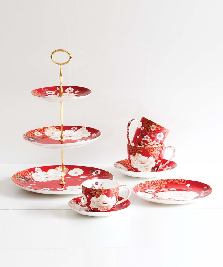 Host your own high tea at home. House