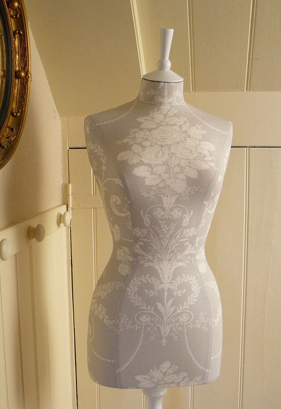 Laura Ashley Fabric Corset laced Mannequin by CorsetLacedMannequin, £204.00