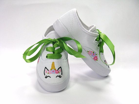 Unicorn Shoes Hand Painted Sneakers for