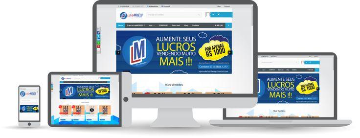 O melhor site é aquele que se adéqua automaticamente nas telas dos principais dispositivos tecnológicos!