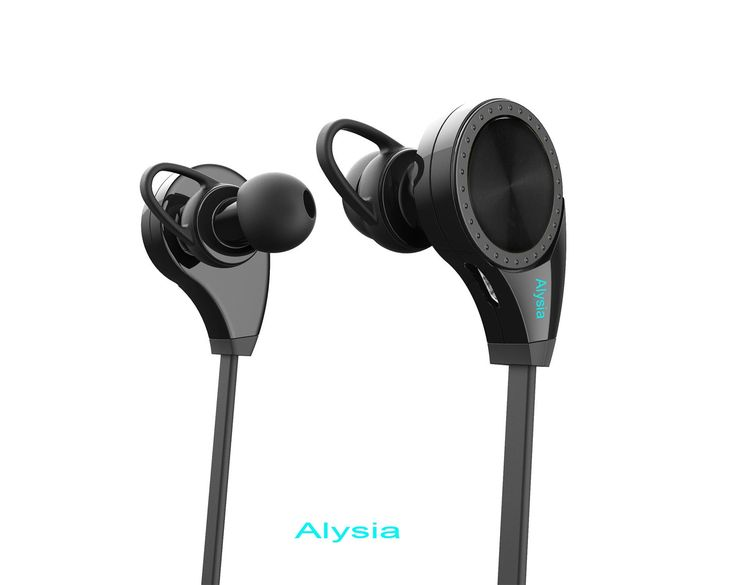 Bluetooth Headsets - Alysia® Earphones Wireless Headphones for Running with Mic (Bluetooth 4.1, aptX, CVC 6.0 Noise Cancelling, Sweatproof). Newest Version: With latest Bluetooth 4.1 and EDR audio decode tech equipped, the signal of earphone is strengthened and Bluetooth working range ups to 33ft, allowing you the freedom from cords and greater flexibility of phone placement proximity. Our Bluetooth earphones can pair with 2 different Bluetooth devices with iOS or Android system at a…