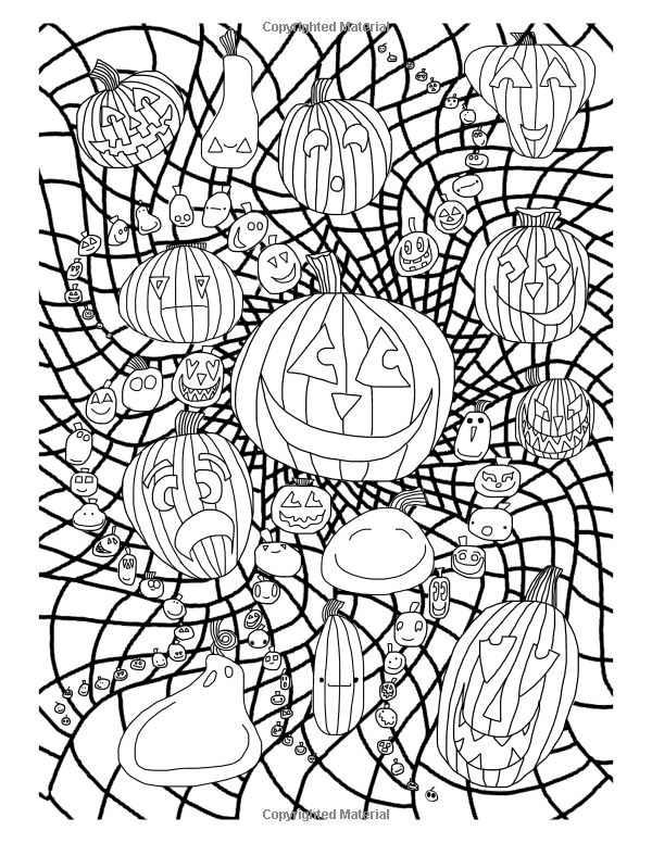 halloween therapy coloring pages   1000+ images about ideas on Pinterest   Adult Coloring ...