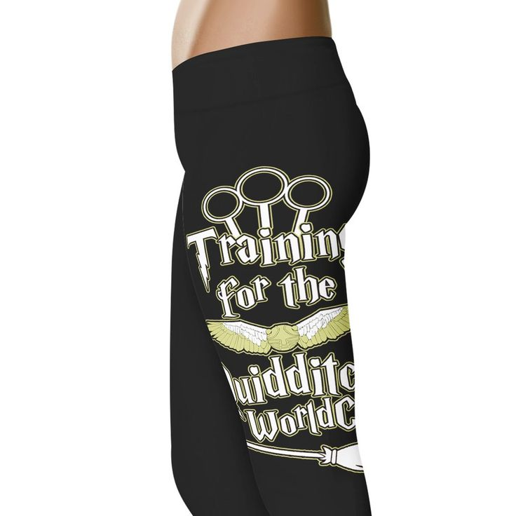 Training for the Quidditch World Cup Leggings
