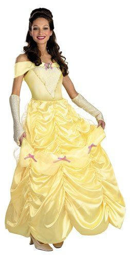 Disney Deluxe Adult Belle Costume Belle Costumes - Mr. Costumes