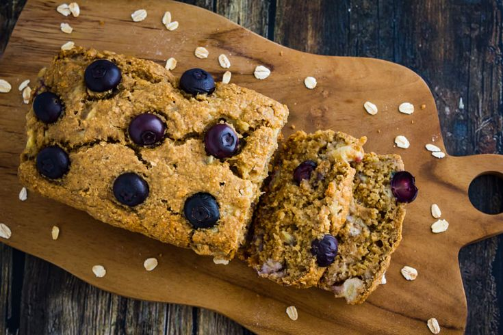 Banana Bread with Blueberry
