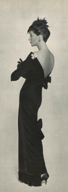 1957 - Christian Dior Evening Dress