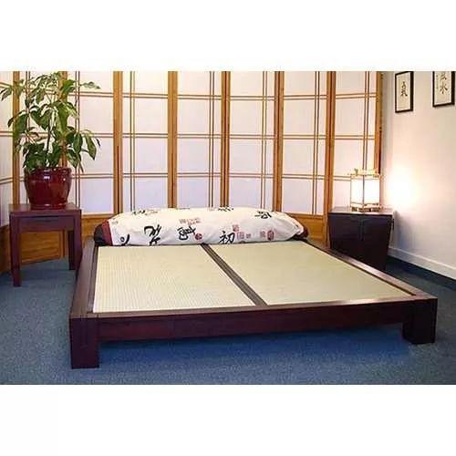 Base Cama King Size Japonesa  Madeira Nobre - R$ 2.100,00