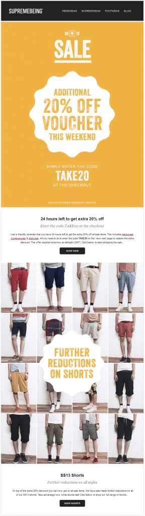 http://www.wiredmarketing.co.uk/insider/july-top-20-professional-email-templates/ Supremebeing's July template