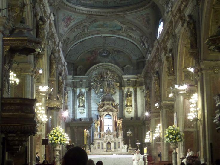 Visitamos el cathedral in Santiago.