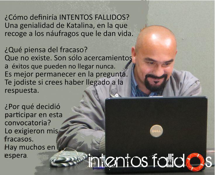 Carlos Manuel Lara Músico en Intentos Fallidos