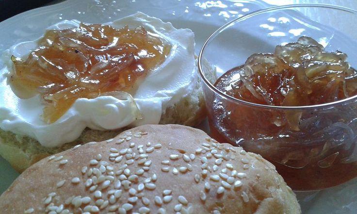 Μαρμελάδα κρεμμυδιού…, για λαχταριστά σαντουιτς.