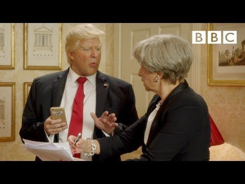 Officially...Archangel641's Blog: President Trump says British PM Theresa May is not...