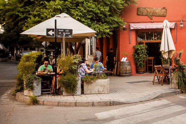 Santiago (Chile): Lastarria