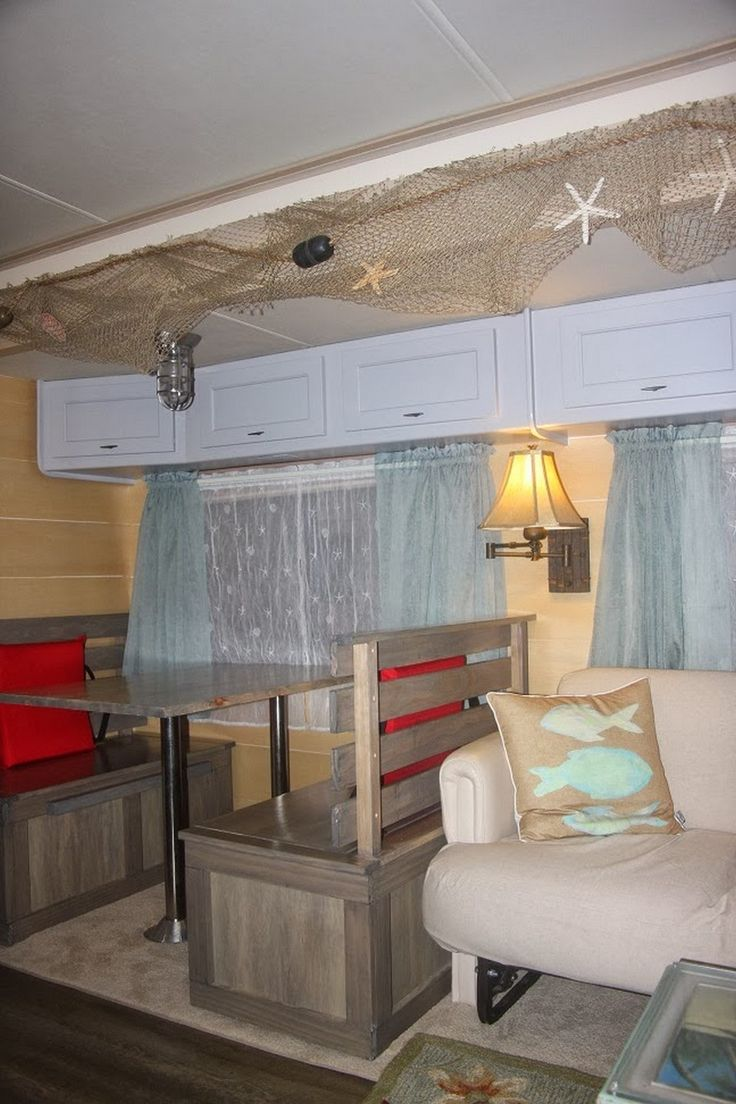 cool 99+ RV Interior Before and After Makeover http://www.99architecture.com/2017/05/04/99-rv-interior-makeover/