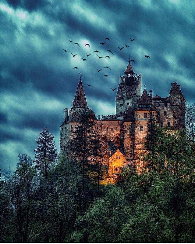 Dracula Castle , Romania  Photo by @kyrenian