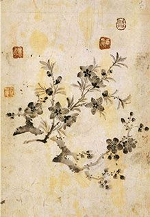 (Korea) by Gang Se-hwang (1713- 1791). color on paper. Korean painting.