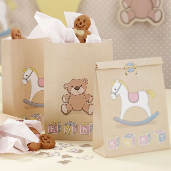 Rock A Bye Baby Party Supplies Paper Party Bags £4.99 5pk