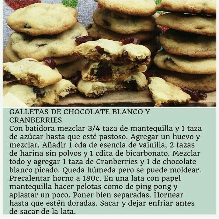 Galletas de chocolate blanco y vainilla por Virginia De María