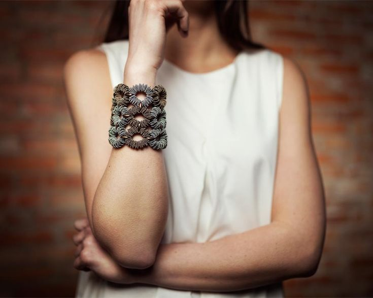 Amio #bracelet > Shop the whole collection now at http://monicatrevisi.com/it_IT/shop/?filter_collezione=92 -- #jewel #gioielli #bracciale #bijoux #ethnic #designjewel #design #made in #italy #handmade