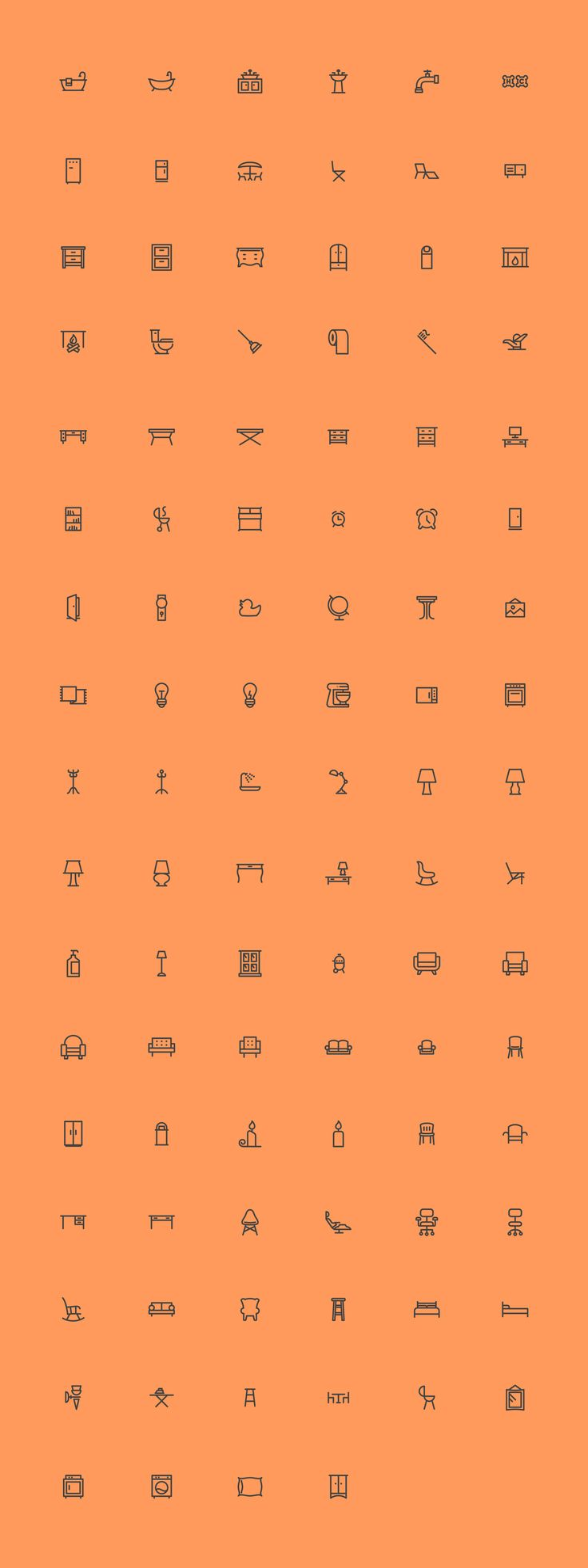 These vector icons are perfect for use in your next app, UI, and branding project.