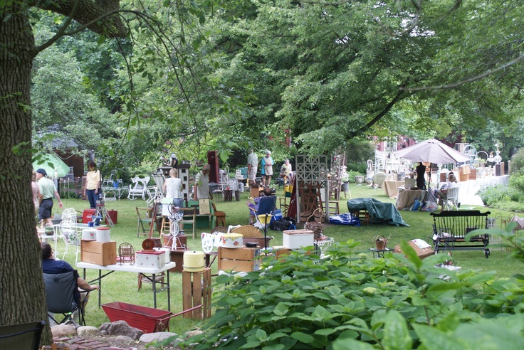 The annual Antique and Garden Sale at Northwind Perennial Farm in Burlington, WI. Photo by Cindy Almerico