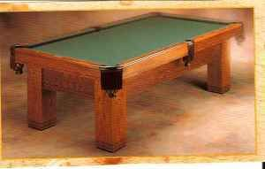 Used Brunswick Sante Fe Pool Table for Sale A3