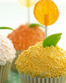 Yeah, happy flower cupcakes!
