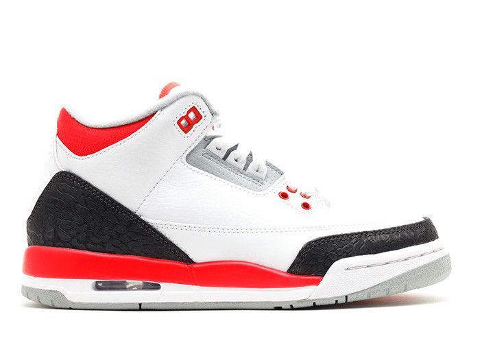 Jordan 3 Retro Fire Red (GS)