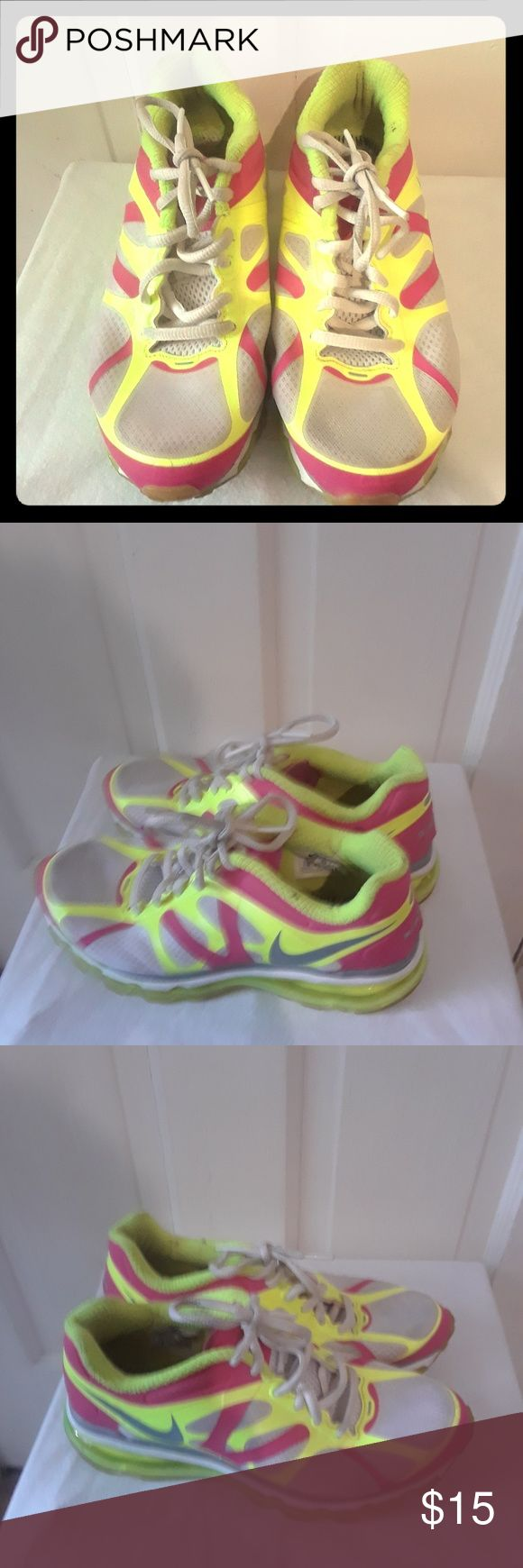 Nike Air max  Women's Athletic Size Us 5.5 UK 5 EUR 38 cm 24, no insoles Nike Shoes Athletic Shoes