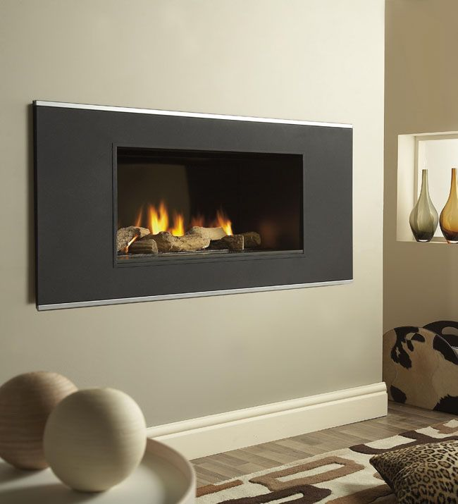 The Vertex Gas Fire Features A Minimalist Hole In Wall Design Which Will Create Stunning Focal Point Any Modern Living RoomThe Lack Of Hea