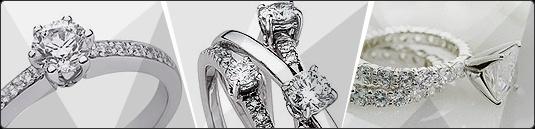 Meravigliosi ed Esclusivi Anelli Donna in Oro e Diamanti