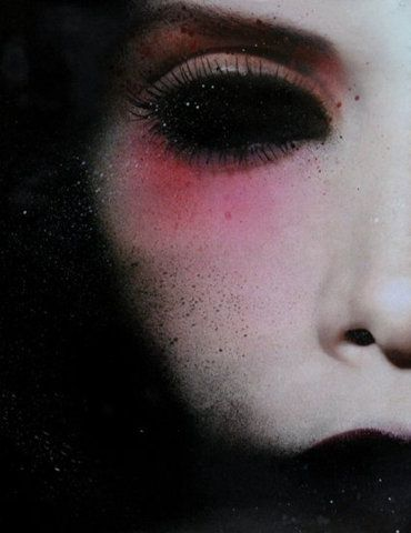 .......: Creepy, Dark Eyes, Black Eyes, Marco Rea, Dark Beauty, Art, Dark Shadows, Black Eye Shadows, Darkness