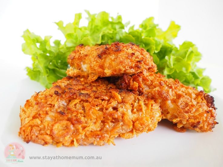 Crunchy Nut Cornflake Chicken | Stay at Home Mum #Chicken #FastFood