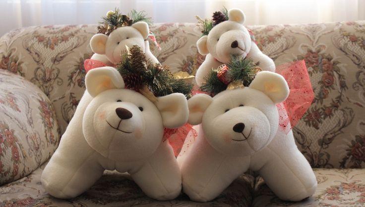 ¡Que el guardián de tu hogar esta navidad sea uno de estos osos polares!