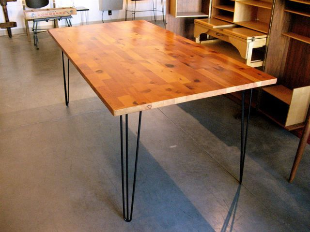 Pine Marquetry Table