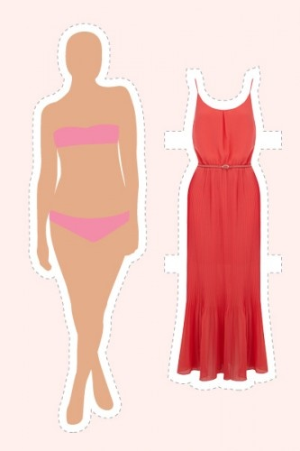 Dresses for the body shapes - Short Legs