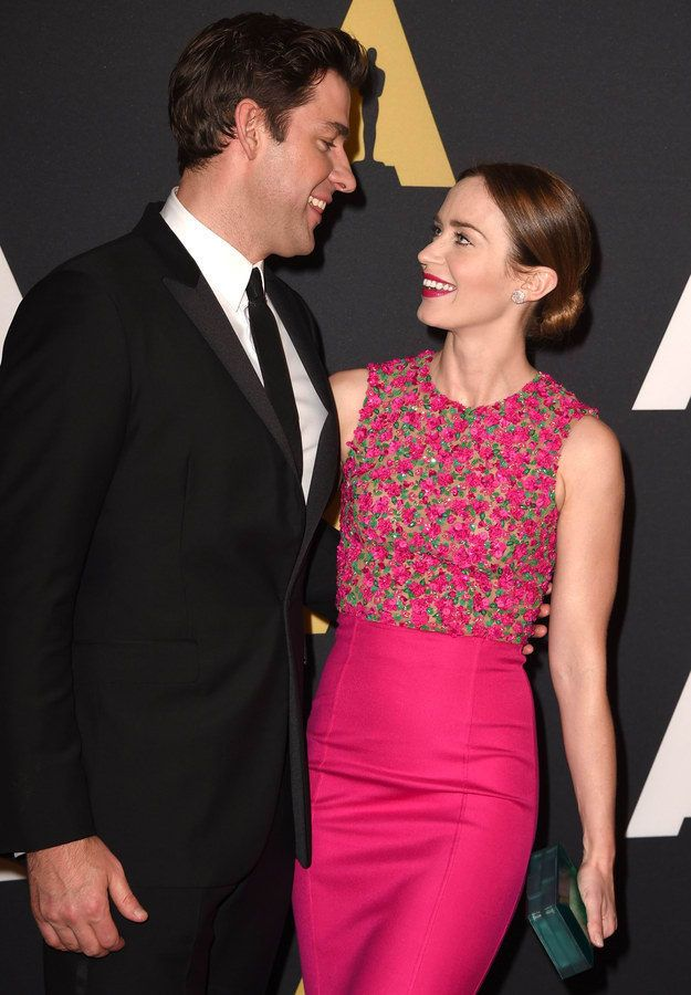 What Celebrity Couple Are You And Your Significant Other?  Take quizzes and chill with the BuzzFeed app.  Get the app  You got:Emily Blunt and John Krasinski  No couple is a better hang than you. You're always going on double dates and having dinner parties because you're a fun, funny, and relatable couple who everyone wants to be around.